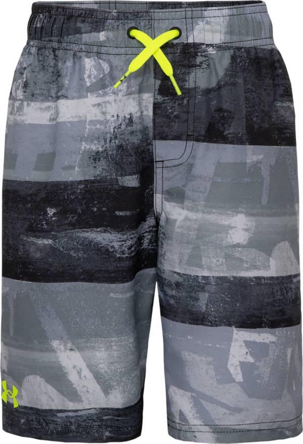 Under Armour Boys' Graf Stripe Volley Swim Trunks product image