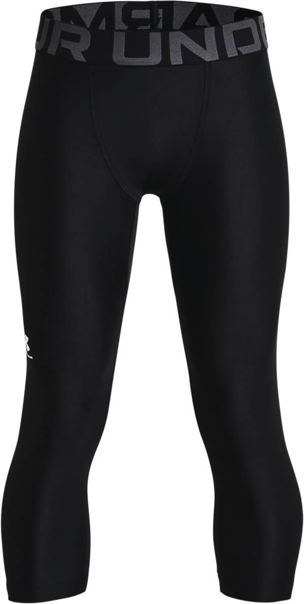 Under Armour Boys' HeatGear Armour ¾ Leggings product image
