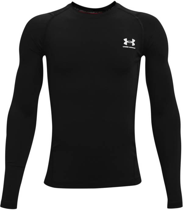 Under Armour Boys' HeatGear Armour Long Sleeve Shirt product image
