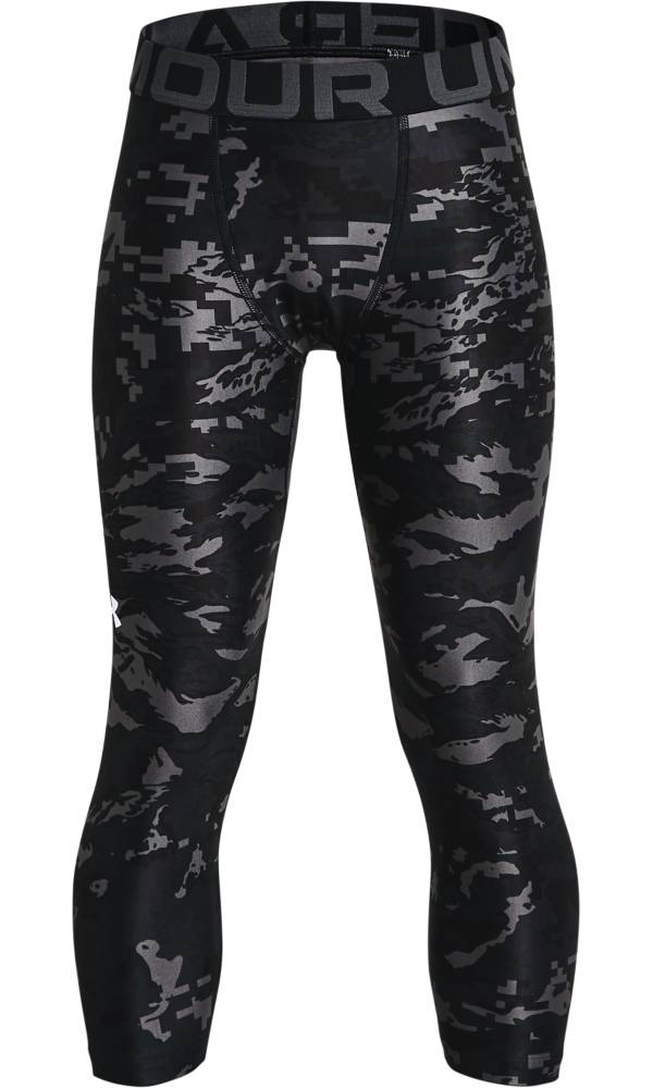 Under Armour Boys' HeatGear Printed 3/4 Leggings product image