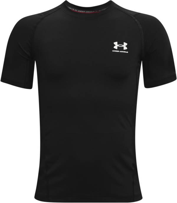 Under Armour Boys' HeatGear Armour Short Sleeve Shirt product image