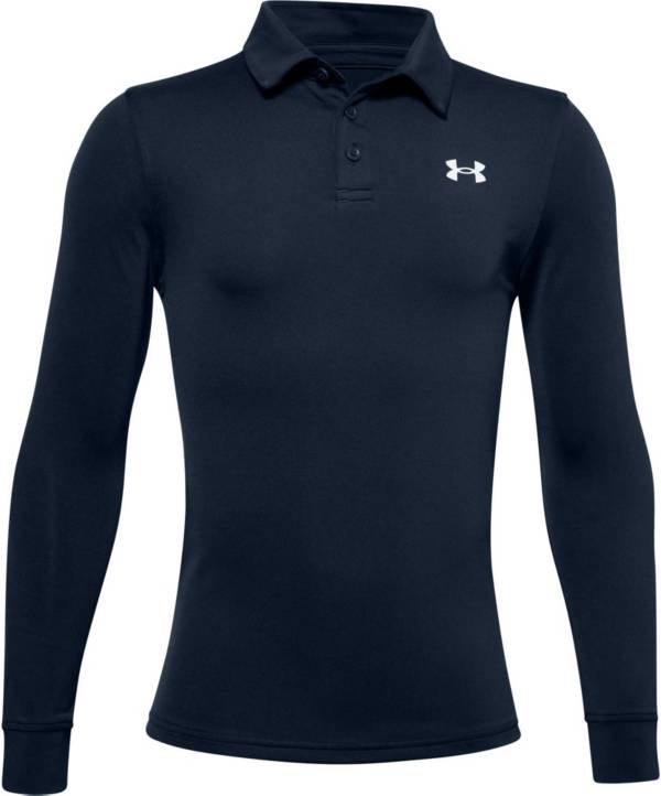 Under Armour Boy's Playoff Long Sleeve Polo product image