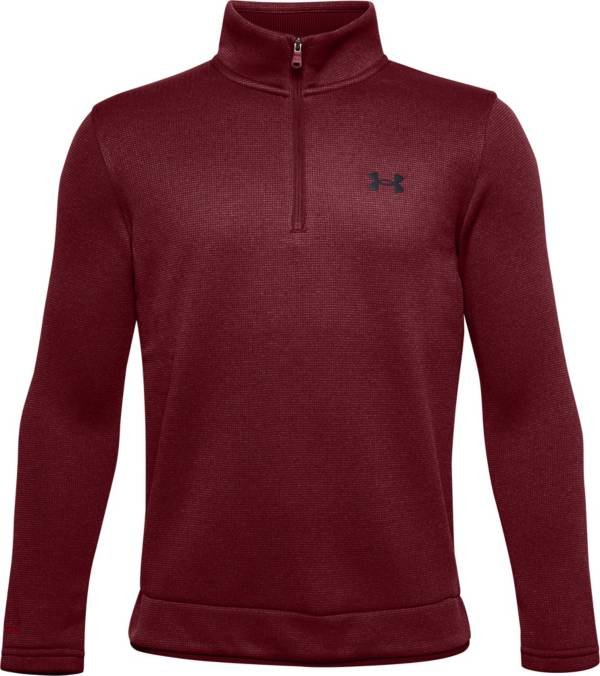 Under Armour Boys' Sweater Fleece ½ Zip Long Sleeve Shirt product image