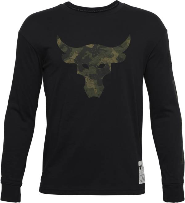 Under Armour Boys' Project Rock Veteran's Day Long Sleeve Shirt product image