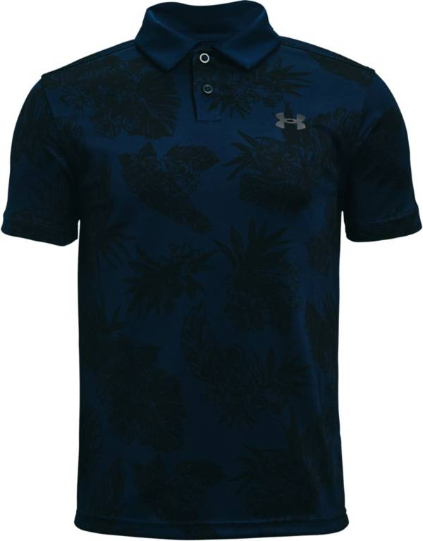Under Armour Boy's Performance Floral Golf Polo product image
