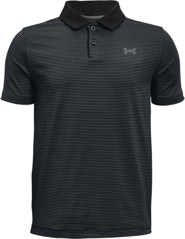 Under Armour Boys' Performance Stripe Short Sleeve Golf Polo product image