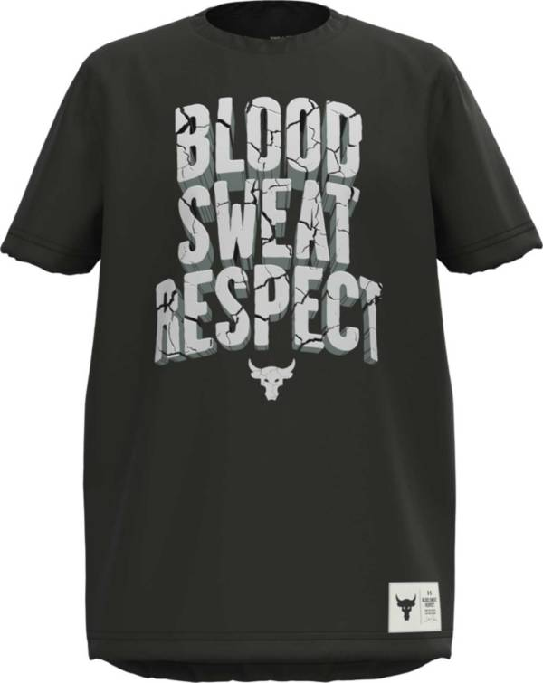 Under Armour Boys' Project Rock Blood Sweat Respect Graphic T-Shirt product image