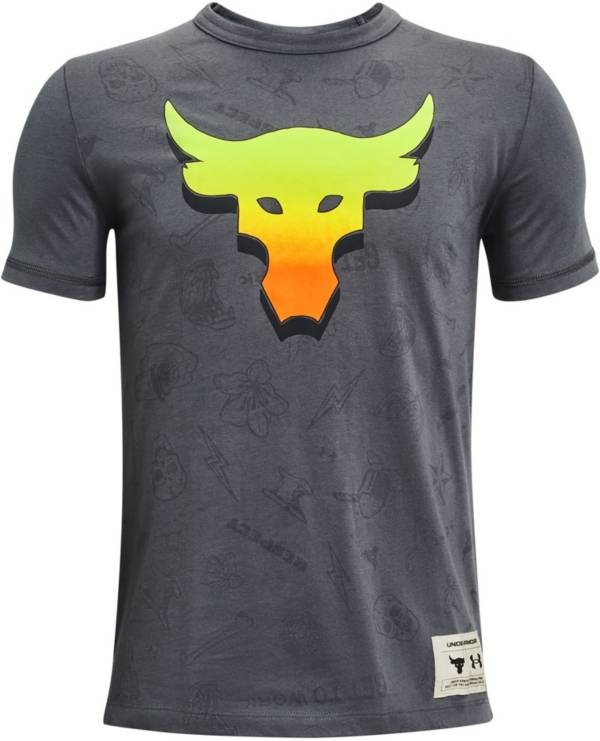 Under Armour Boys' Project Rock SMS T-Shirt product image