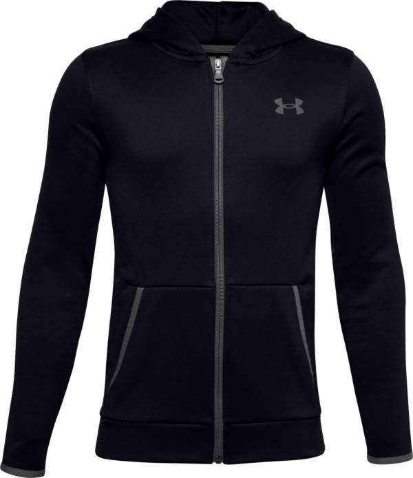 Under Armour Boys' Armour Fleece Full Zip Hoodie product image