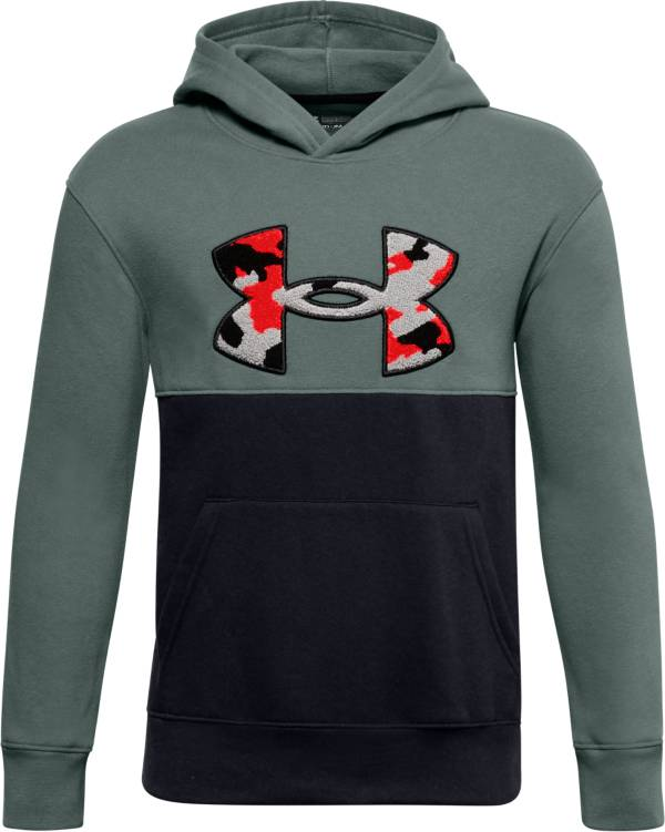Under Armour Boys' Rival Fleece Amp Hoodie product image