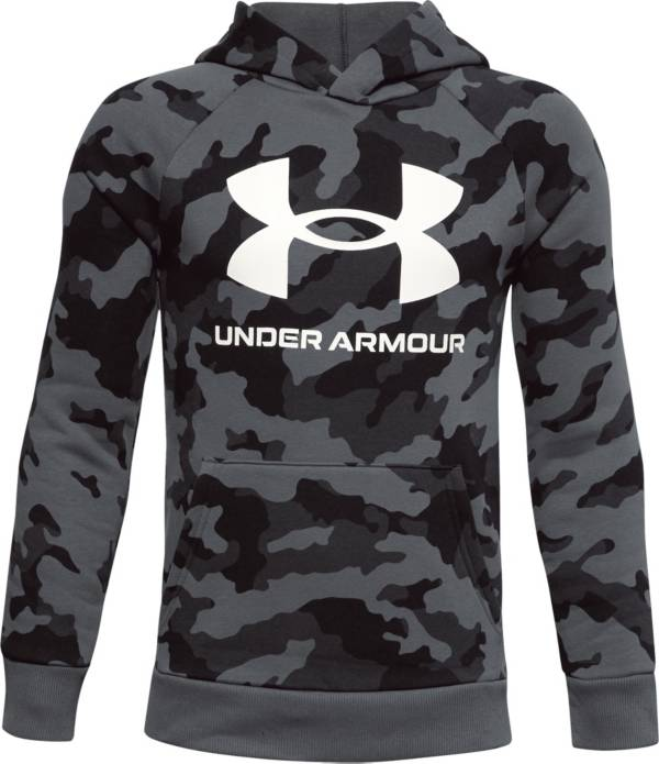 Under Armour Boys' Rival Fleece Printed Hoodie product image