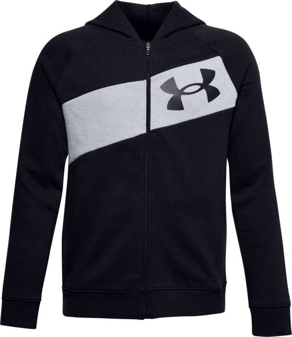 Under Armour Boys' Baseline Full-Zip Basketball Hoodie product image