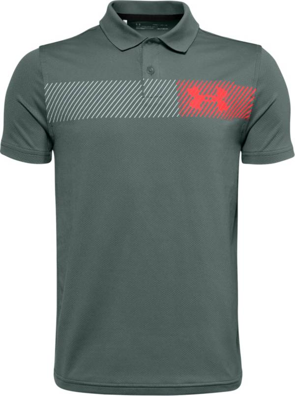 Under Armour Boys' Performance 2.0 Novelty Golf Polo product image