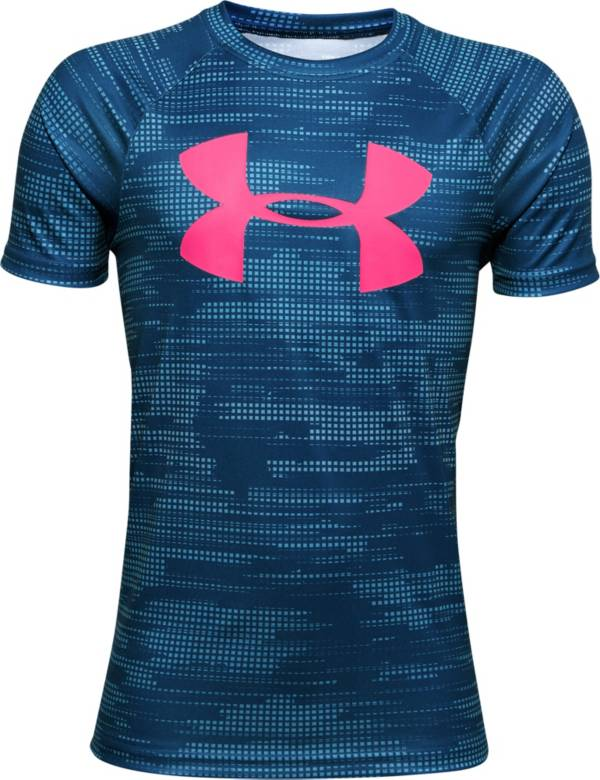 Under Armour Boys' UA Tech Big Logo Printed T-Shirt product image