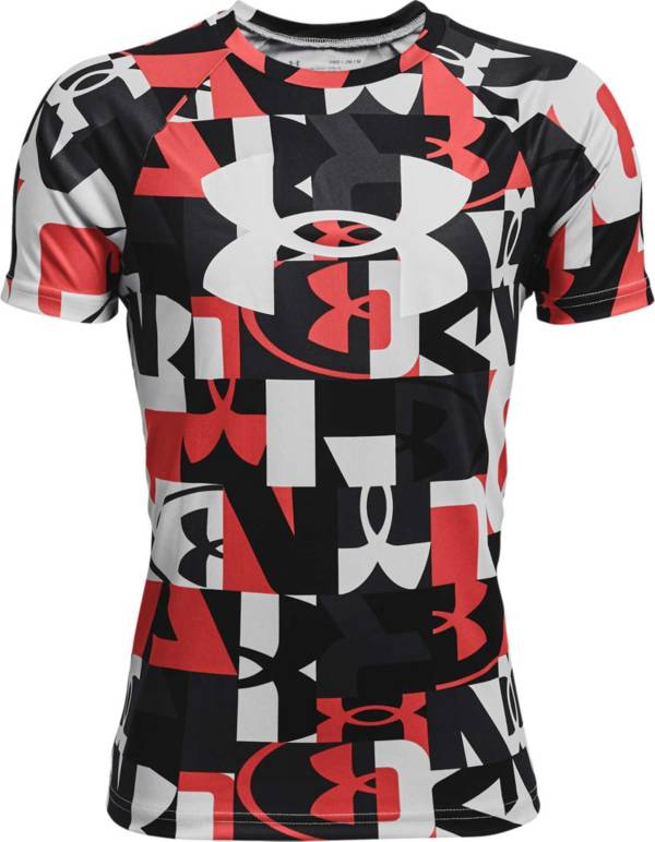 Under Armour Boys' Tech Printed Short Sleeve T-Shirt product image