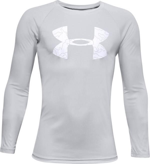Under Armour Boys' UA Tech Logo Fill Long Sleeve Shirt product image
