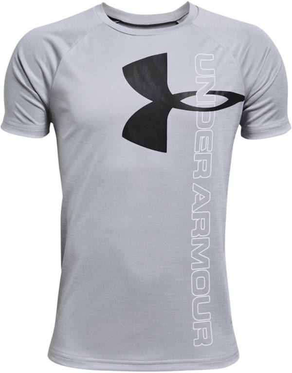 Under Armour Boys' Tech Split Logo Hybrid T-Shirt product image