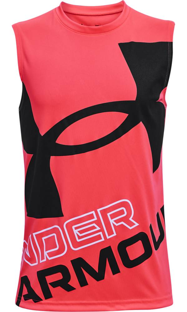 Under Armour Boys' Tech Exploded Logo Tank Top product image