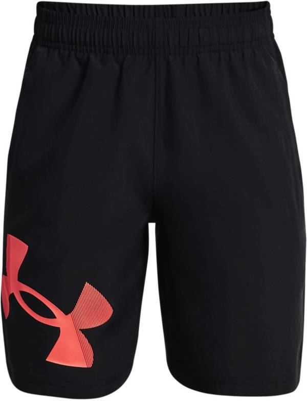 Under Armour Boys' Woven Graphic Shorts product image
