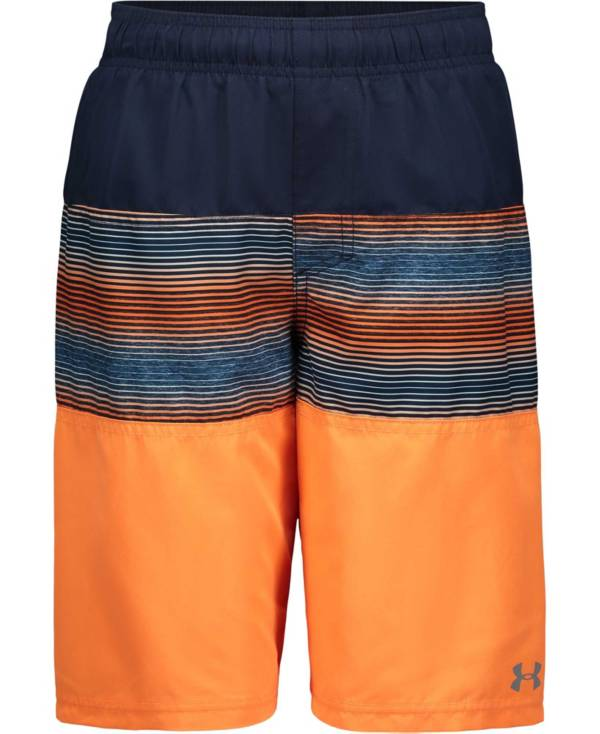 Under Armour Boys' Wave Up Color Block Volley Swim Trunks product image