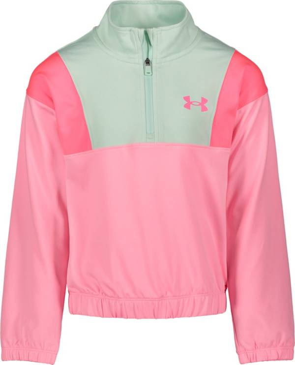 Under Armour Little Girls' Crescent ¼ Zip Pullover product image