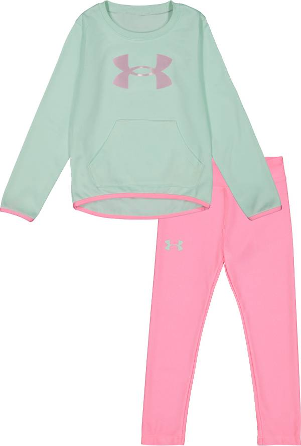 Under Armour Little Girls' Shine Pullover and Leggings Set product image