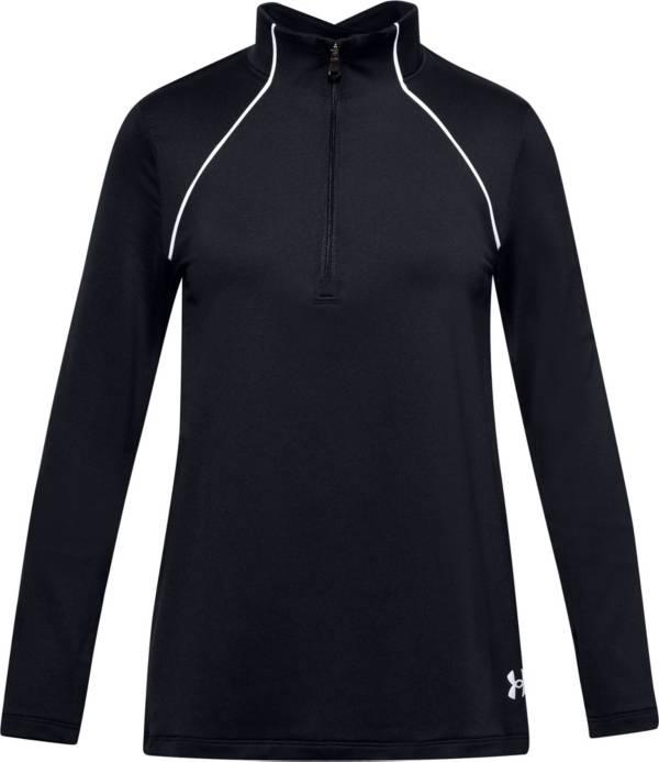 Under Armour Girls' GoldGear Novelty 1/4 Zip Long Sleeve Shirt product image