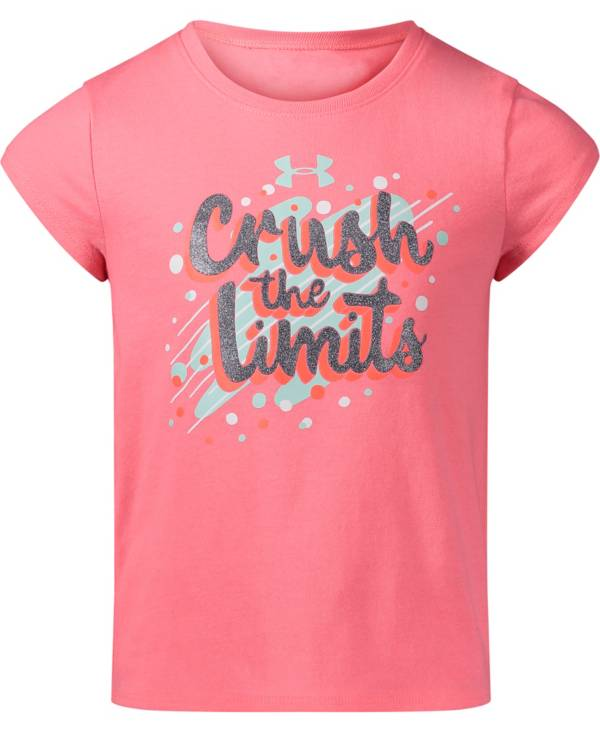 Under Armour Little Girls' Crush The Limits T-Shirt product image
