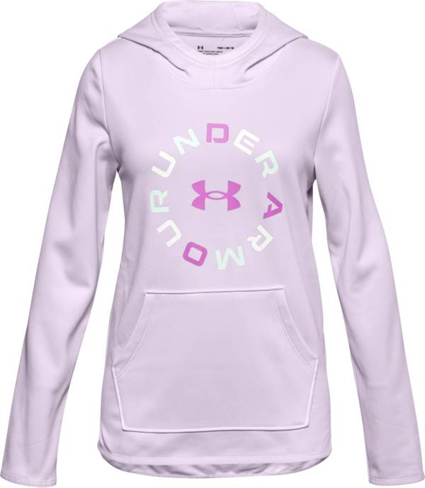 Under Armour Girls' Graphic Armour Fleece Hoodie product image