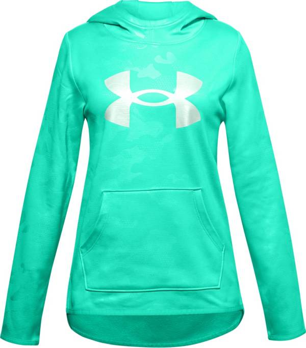 Under Armour Girls' Armour Fleece Logo Textured Hoodie product image