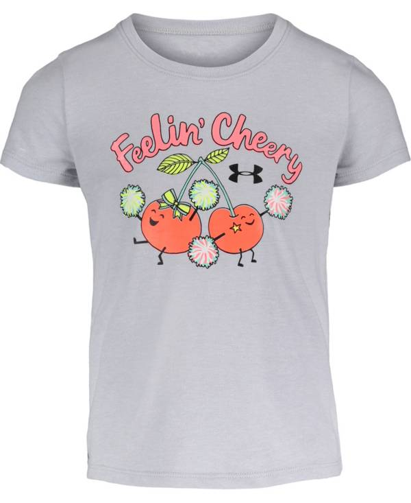 Under Armour Little Girls' Feelin' Cheery T-Shirt product image