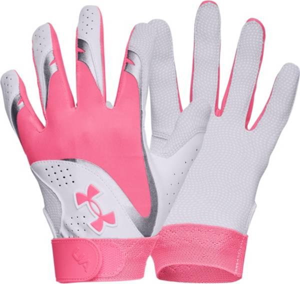 Under Armour Girls' Radar Softball Batting Gloves product image