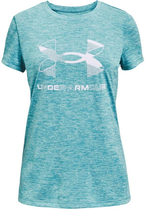 Under Armour Girls' Graphic Twist Big Logo T-Shirt product image