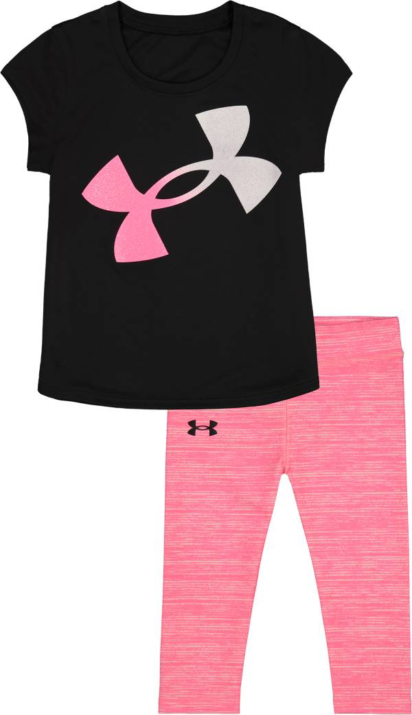 Under Armour Girls' Logo T-Shirt and Leggings Set product image