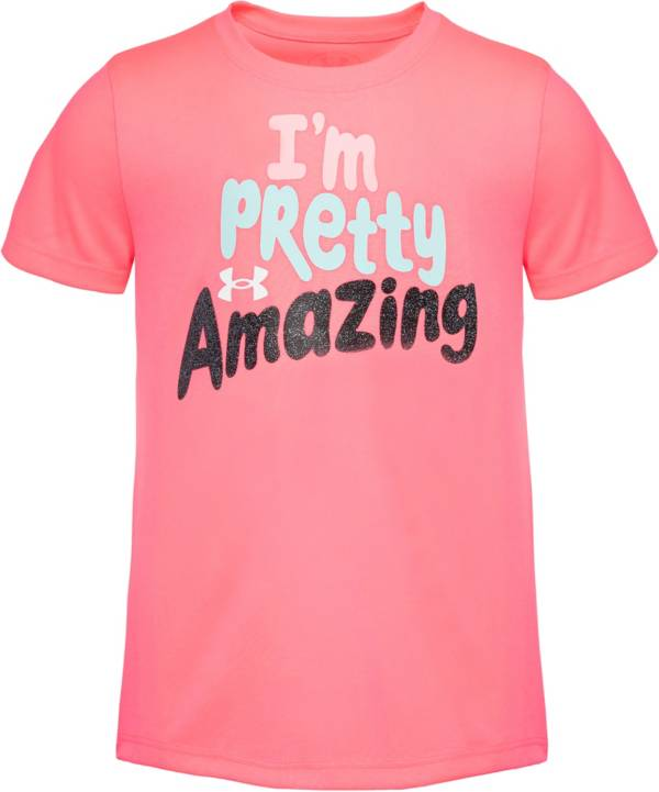 Under Armour Little Girls' Amazing T-Shirt product image