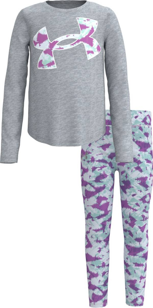Under Armour Little Girls' Abstract Print T-Shirt and Leggings Set product image