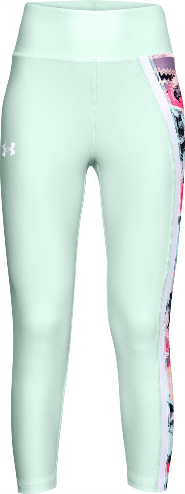 Under Armour Girls' Armour HeatGear Crop Leggings product image
