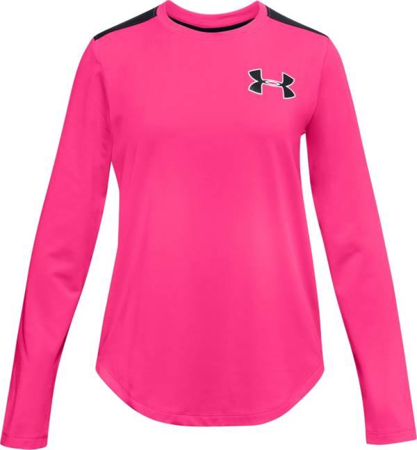 Under Armour Girls' Armour HeatGear Long Sleeve Shirt product image