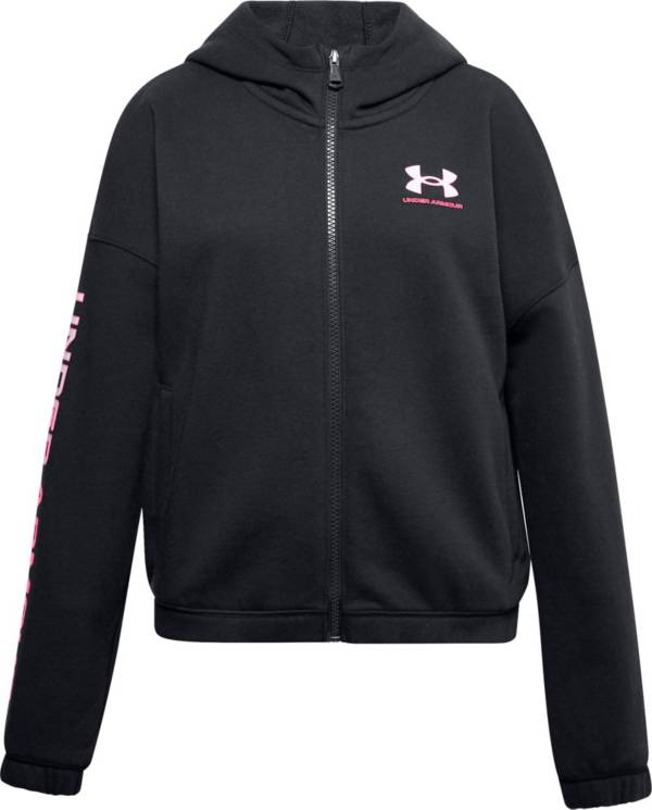 Under Armour Girls' Rival Fleece Full Zip Hoodie product image