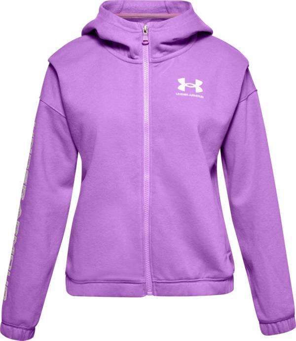 Under Armour Girls' Rival Fleece Full Zip Hoodie product image