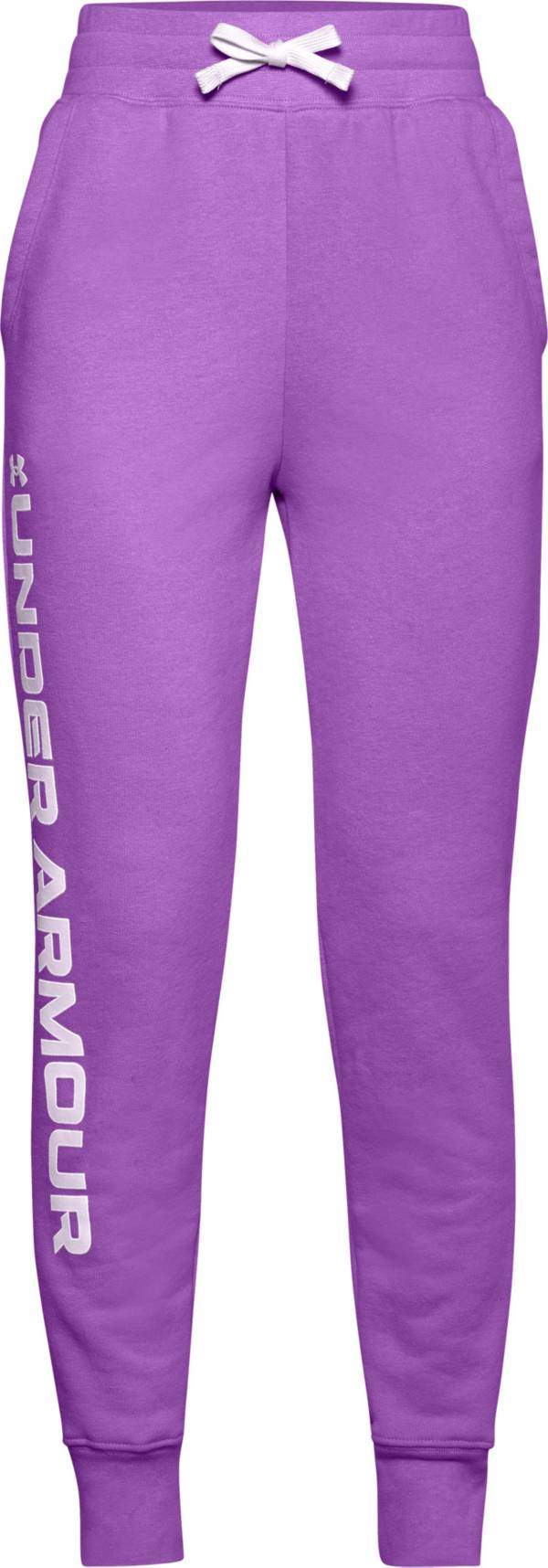 Under Armour Girls' Rival Fleece Joggers product image