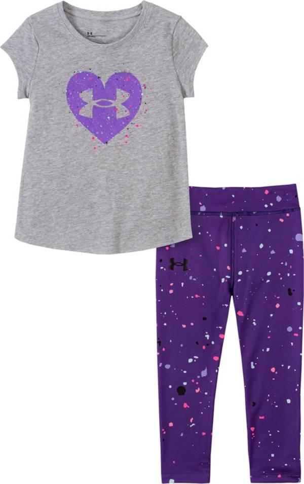 Under Armour Little Girls' Splash T-Shirt and Leggings Set product image
