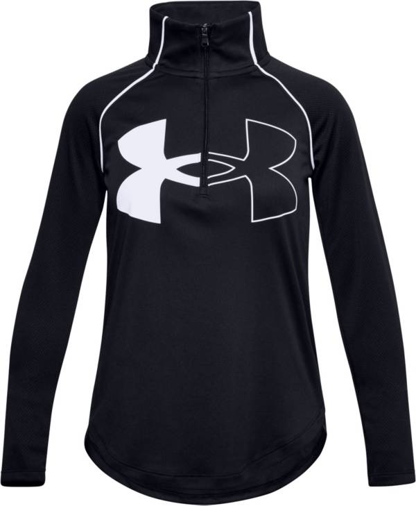 Under Armour Girls' Tech Graphic Logo ½-Zip Pullover product image