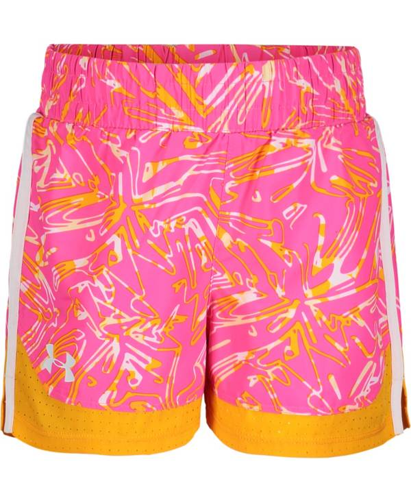 Under Armour Little Girls' Trace Sprint Shorts product image