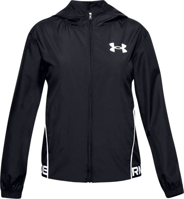 Under Armour Girls' Woven Play Up Jacket product image