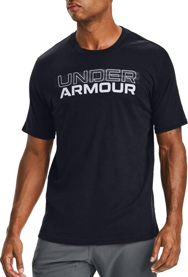 Under Armour Men's Blurry Logo Wordmark Short Sleeve T-Shirt product image