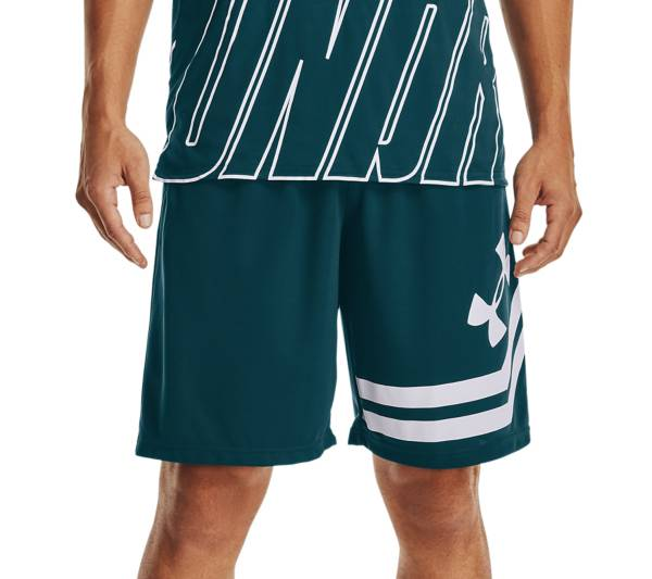 "Under Armour Men's Baseline 10"" Court Basketball Shorts product image"