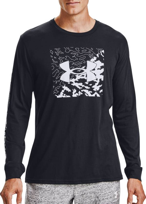 Under Armour Men's Camo Box Logo Long Sleeve T-Shirt product image
