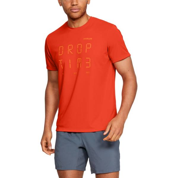 Under Armour Men's Graphic Time Short Sleeve Running T-Shirt (Regular and Big & Tall) product image