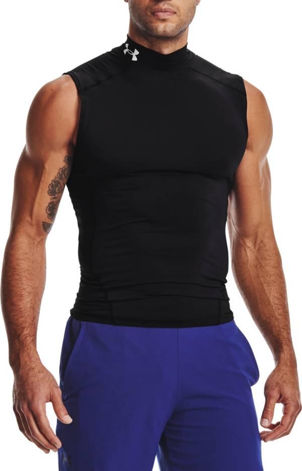 Under Armour Men's HeatGear Compression Mock Sleeveless Shirt product image